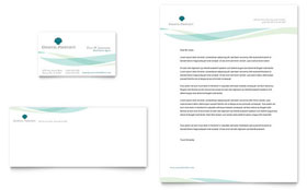 Coastal Real Estate - Business Card & Letterhead Design Template