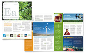Environmental & Agricultural Non Profit - Newsletter Design Template