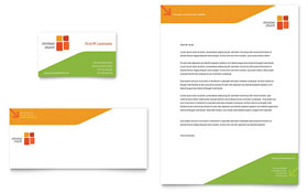 Church Youth Ministry - Business Card & Letterhead Template