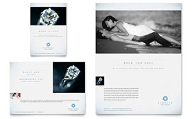 Jeweler & Jewelry Store - Flyer & Ad Template