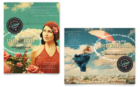 Vintage Clothing - Poster Template