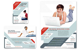 Computer Solutions - Flyer & Ad Design Template