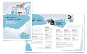 Technology Business Marketing - Brochure Template