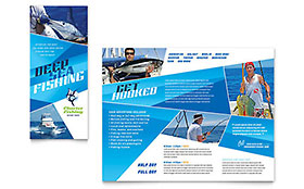 Travel & Tourism Business Marketing - Brochure Template
