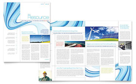 Renewable Energy Consulting - Newsletter Design Template