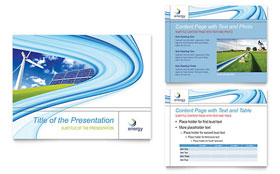 Renewable Energy Consulting - PowerPoint Presentation Design Template