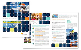 Energy & Environment Business Marketing - Brochure Template