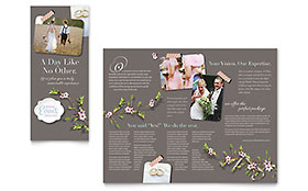 Wedding & Event Planning Business Marketing - Brochure Template