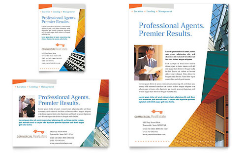 real estate brochure design samples. Access All Templates!