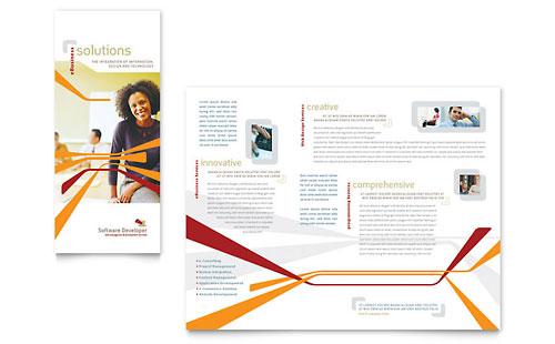 brochure design templates. Tri Fold Brochure Template