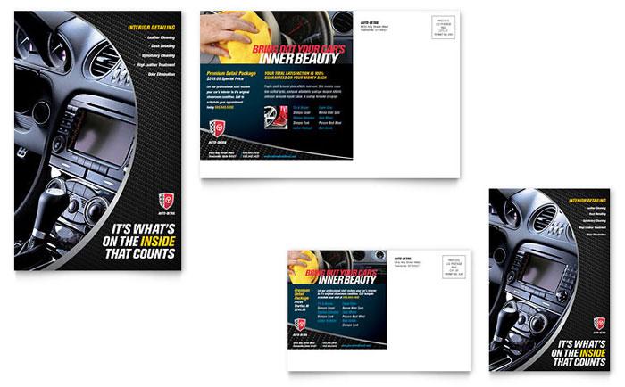 Auto Detailing Flyer Ad Template Design – Auto Detailing Flyer Template