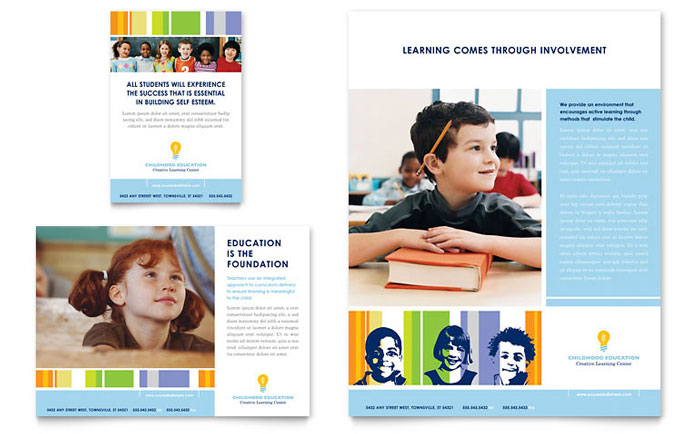Elementary School | Flyer Templates | Education & Training