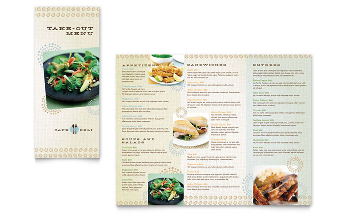 Tri Fold Menu Templates For Microsoft Word Publisher   PC 4 Download