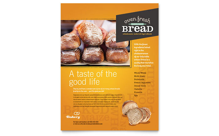 Bakery Flyers