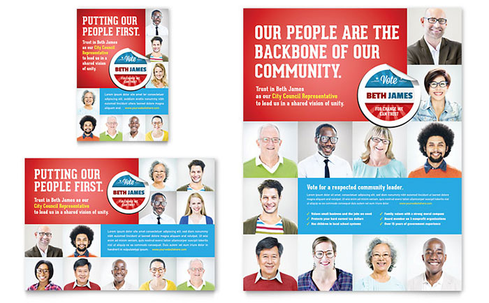 Politics Flyer Templates – Political Flyer Template