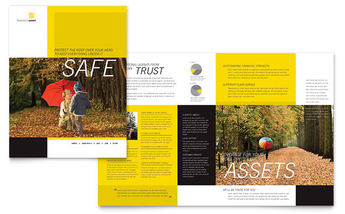Insurance Marketing - Brochures, Flyers, Newsletters