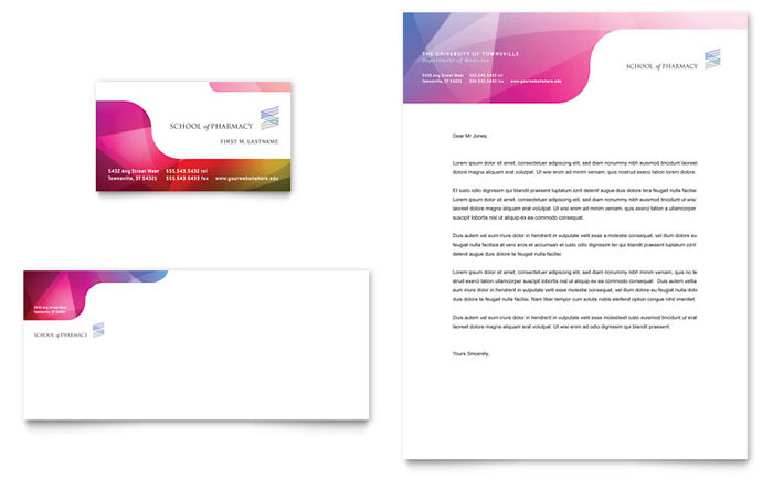 Medical and Health Care Letterheads – Business Letter Heading Template