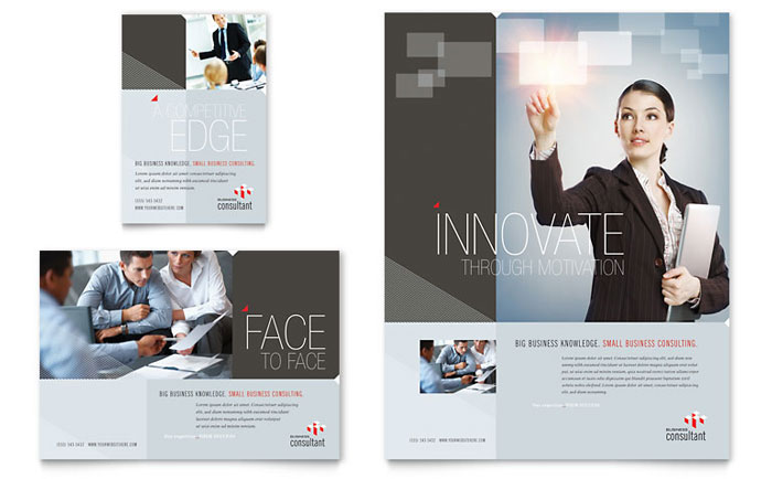 Corporate business flyer ad template design for Ad designs