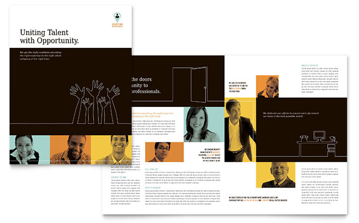 Brochure Sample - Recruiter