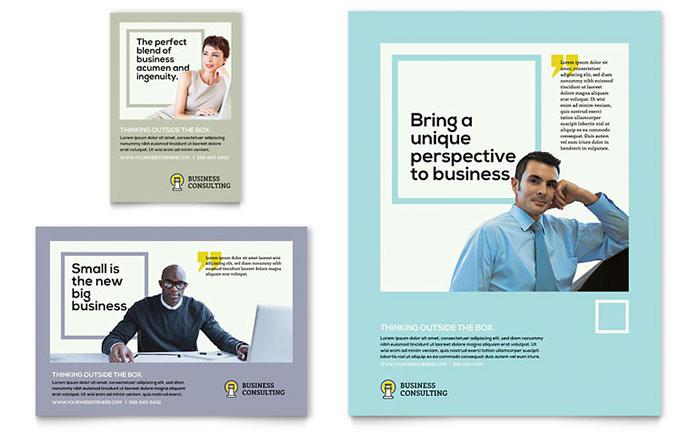 Print Ad Templates - InDesign, Illustrator, Publisher, Word