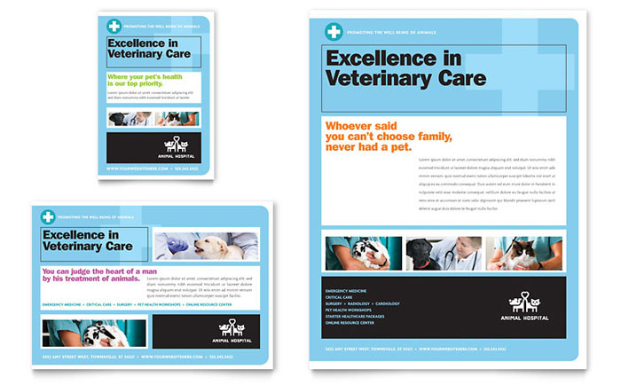 Animal Hospital Flyer Design