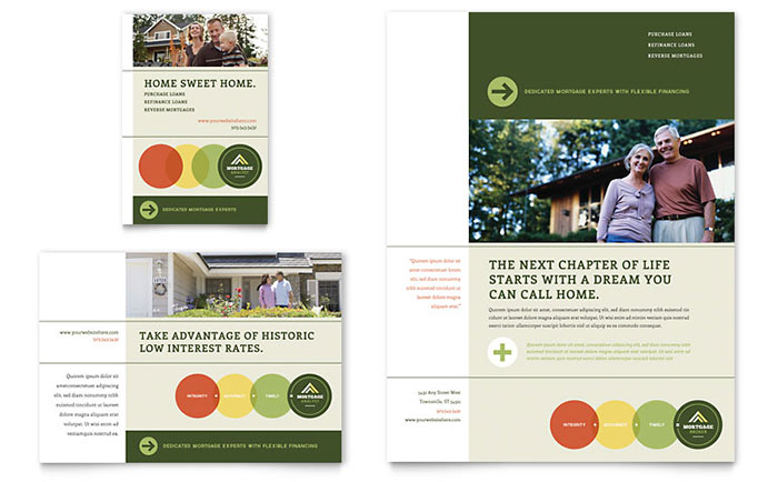 Mortgage Broker Brochure Template Design – Mortgage Templates