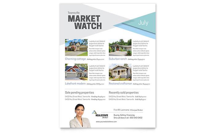 Real Estate Agent | Flyer Templates | Real Estate