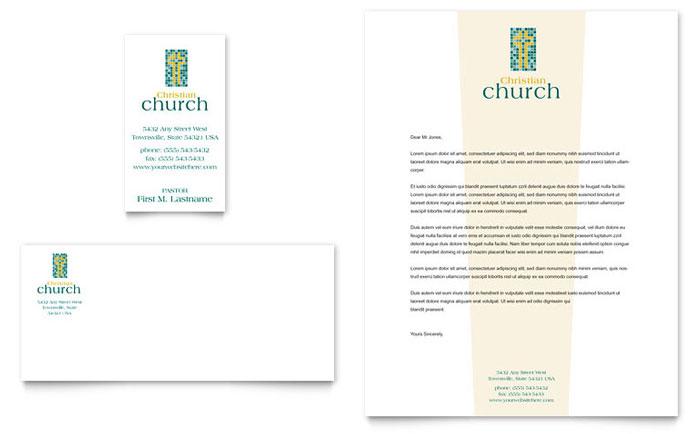 Church Letterhead Templates – Church Letterhead Template