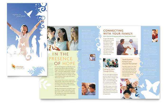 Church Marketing - Brochures, Flyers, Newsletters