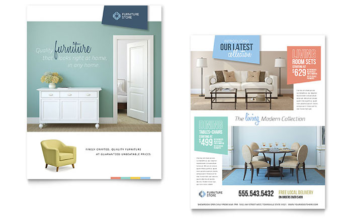 Print design ideas graphic design ideas inspiration by for P s furniture flyer