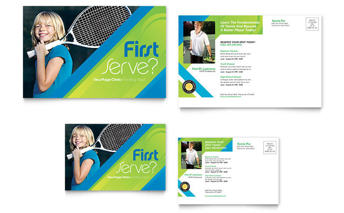 Sports & Fitness Postcards | Templates & Designs