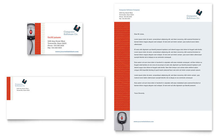 Technology Letterheads – Sample Letterhead for Business