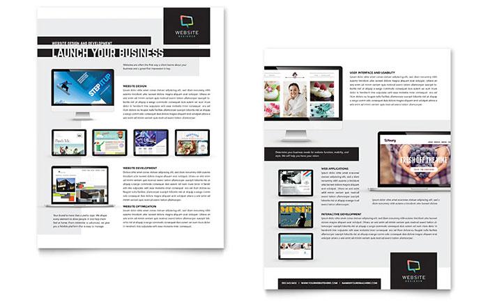 website designer datasheet template design. Black Bedroom Furniture Sets. Home Design Ideas