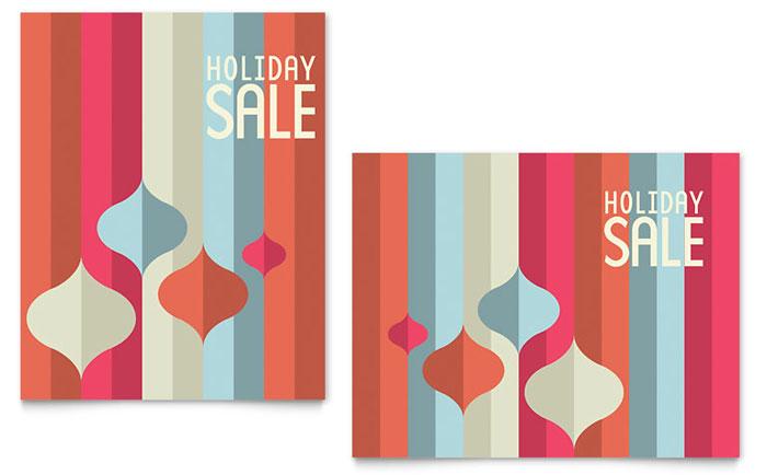 Holiday & Seasonal | Poster Templates | Retail & Sales