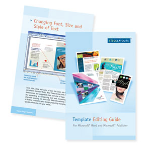 Template Editing Guide for Microsoft Word and Publisher