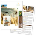 Farming & Agriculture - Brochure Template Design