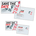 Save The Date - Note Card Design