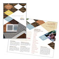 Roofing Contractor - Brochure Template Design Sample