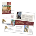 Decks & Fencing - Brochure Template Design Sample