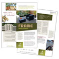 Decks & Fencing - Datasheet Design