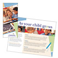 Child Care & Preschool - Brochure Template Design