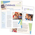 Child Care & Preschool - Newsletter Template Design