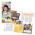 Preschool Kids & Day Care - Brochure Template Design