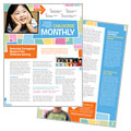 Preschool Kids & Day Care - Newsletter Template Design