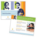 Learning Center & Elementary School - PowerPoint Presentation Template Design