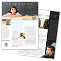 Education Foundation & School - Newsletter Template Design