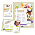 Kindergarten - Flyer & Ad Template Design