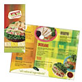 Mexican Restaurant - Take-out Brochure Template Design