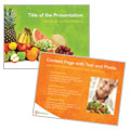 Nutritionist & Dietitian - PowerPoint Presentation Template Design