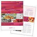 Corporate Event Planner & Caterer - Brochure Template Design Sample